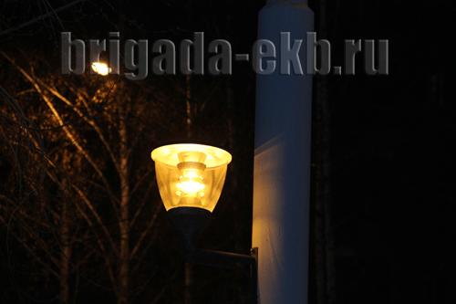 Освещение улиц города